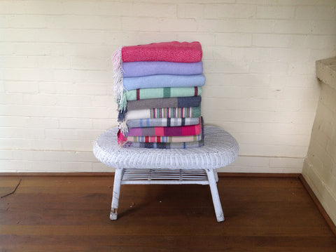 Merino Cashmere Throws