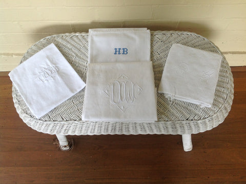 Vintage French Linen - Whites