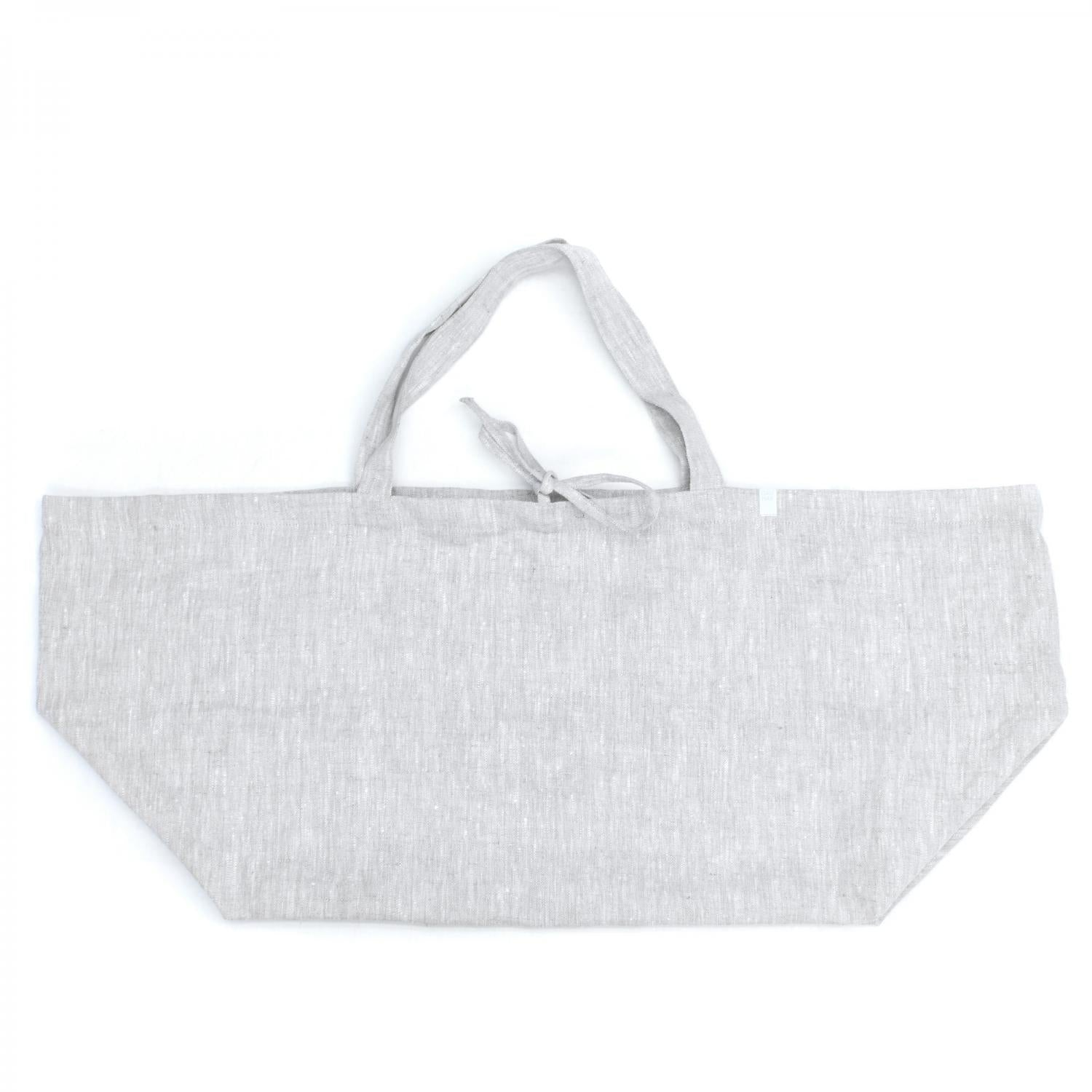 Large Linen Bags - Grey