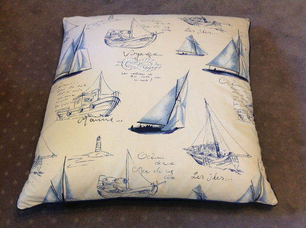 Floor Cushions - Nautical