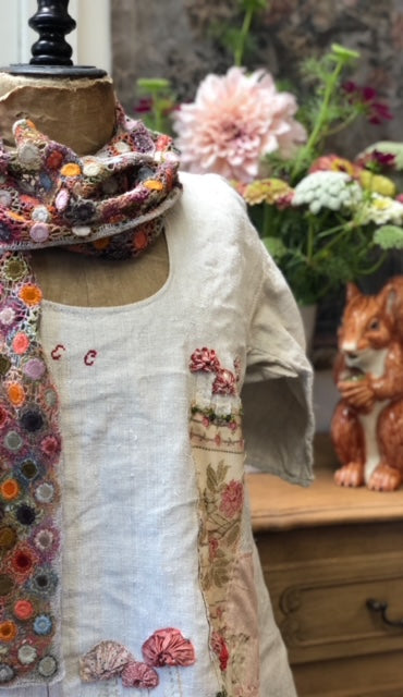 Slow Stitching 101 with Lisa Mattock - Saturday, 14th August 2021