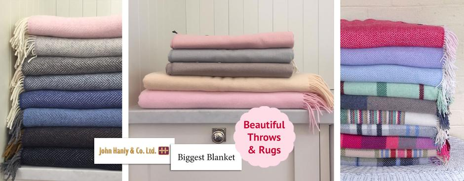 Gramon Australia - Throws - John Hanly & Biggest Blanket Company UK