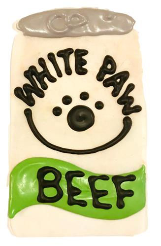White Paw Dog Cookie