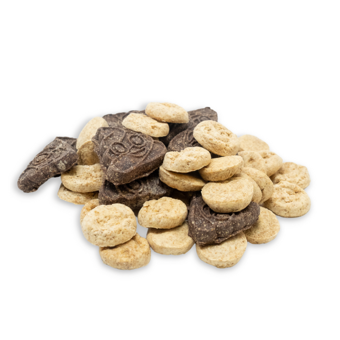 Quirkies: Sh*ts + Giggles - Peanut Butter + Carob Dog Biscuits