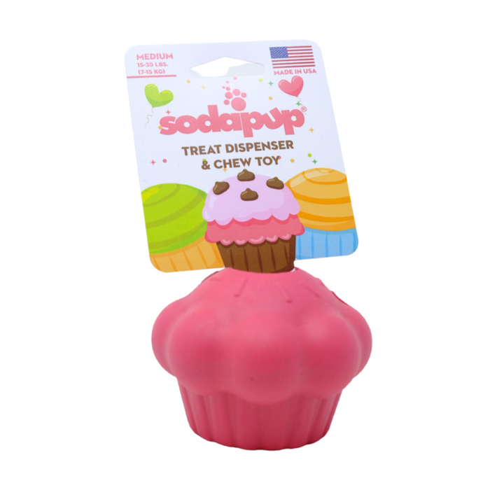 Cupcake Dog Chew Treat Dispenser