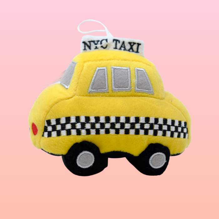 NYC Taxi Plush Toy