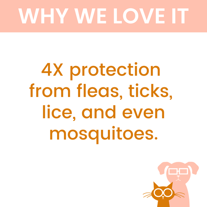 ShieldTec for Dogs - Flea, Tick, & Mosquito Prevention - 4 Dose