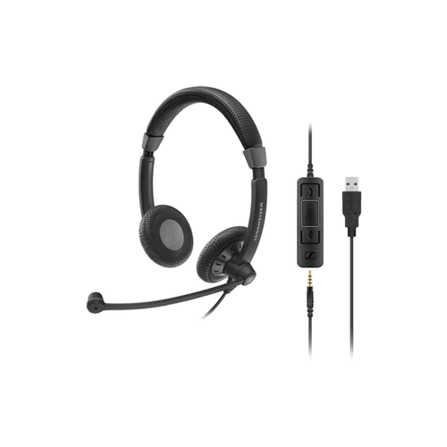 Sennheiser Culture Plus Series SC75 USB CTRL Binaural UC Headset