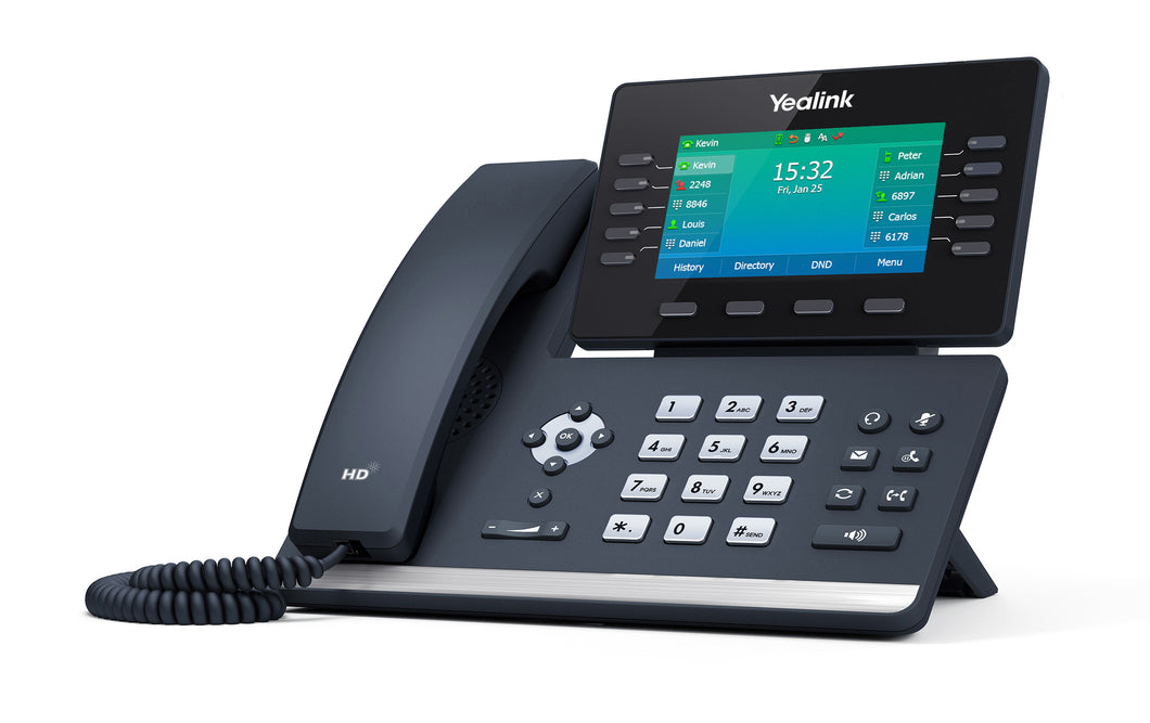 Yealink T54W VoIP Desk Phone w/Power Supply