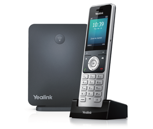 Yealink DECT IP Phone W60P - Includes W56H Handset and W60B Base Station