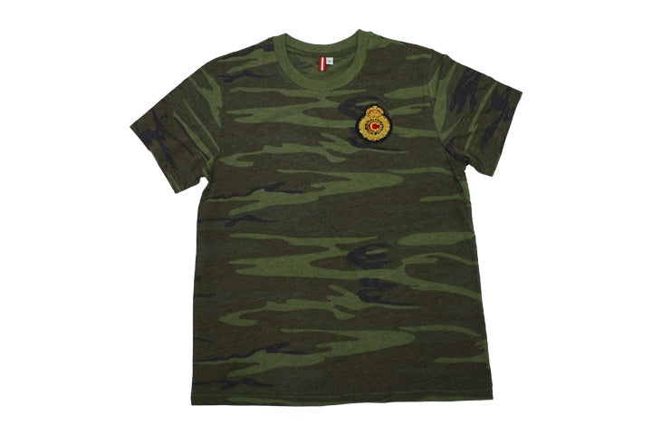 Currency Crest T-Shirt (Camo)