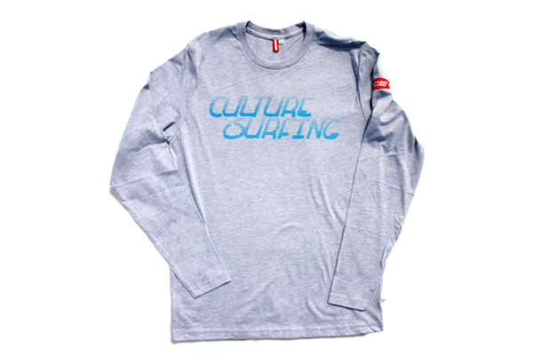 CULTURE SURFING long sleeve w/ mini patch