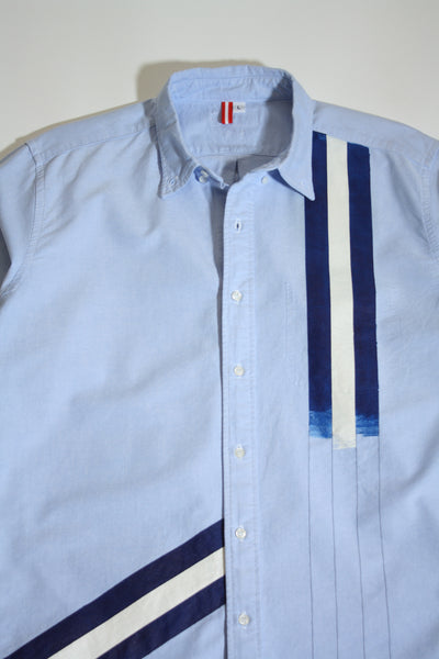 Blueprint Stripes Button Up