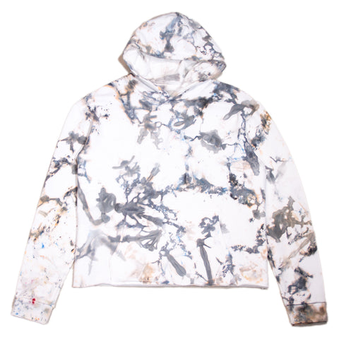 ICE DYE HOODIE - GREY COLLECTION