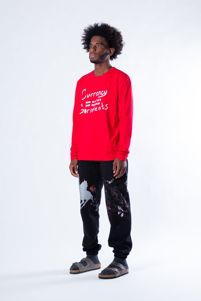 CURRENCY GARMENT 001 LONGSLEEVE