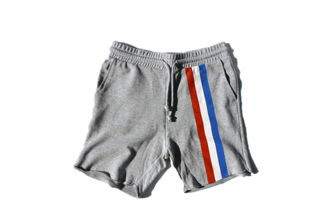 Currency Michaels Stripes Sweatshorts