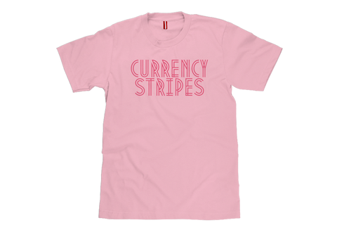 Currency Stripes Graphic T-Shirt