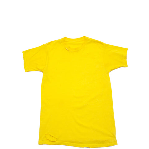 Distressed Yellow T-Shirt