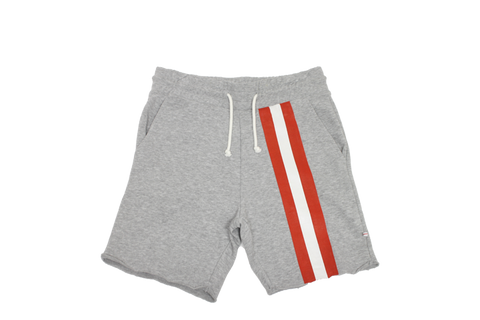 Currency Michaels Stripes Sweat Shorts