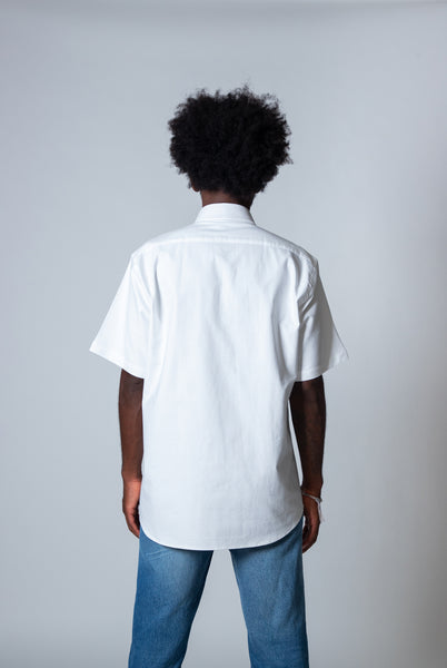 PROPER TIMES SHORT-SLEEVE OXFORD