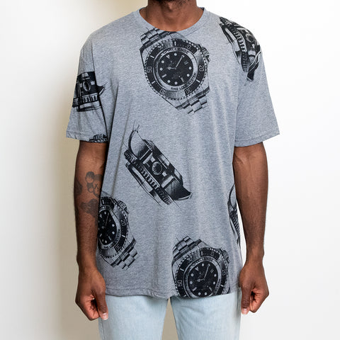 "CURRENCY STUDIO ""ROLEX PRINT"" T-SHIRT"