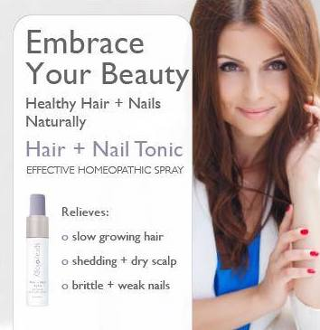 Hair & Nail Tonic Homeopathic Spray by Sprayology