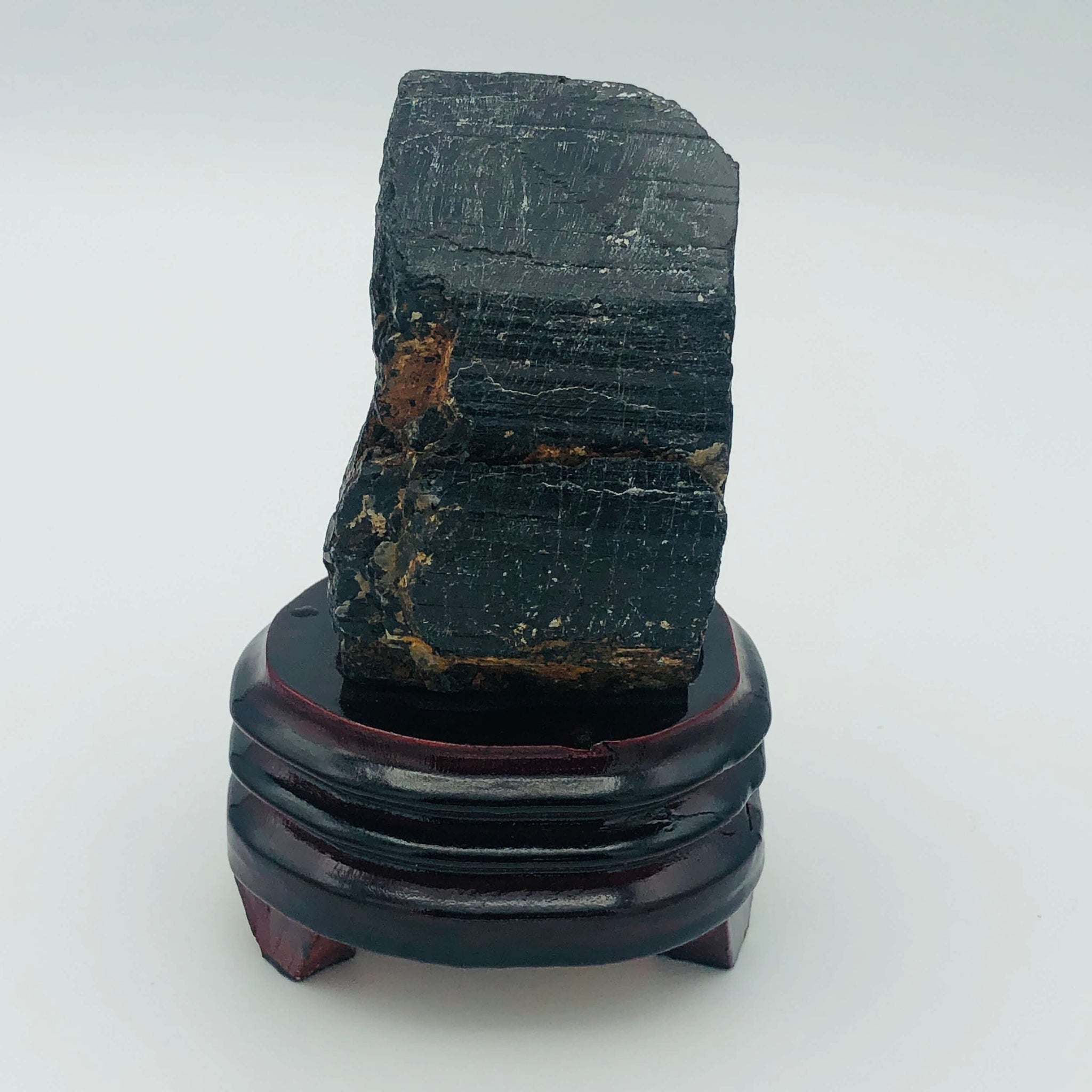 Large Black Tourmaline (Chinese Scholar's Rock)