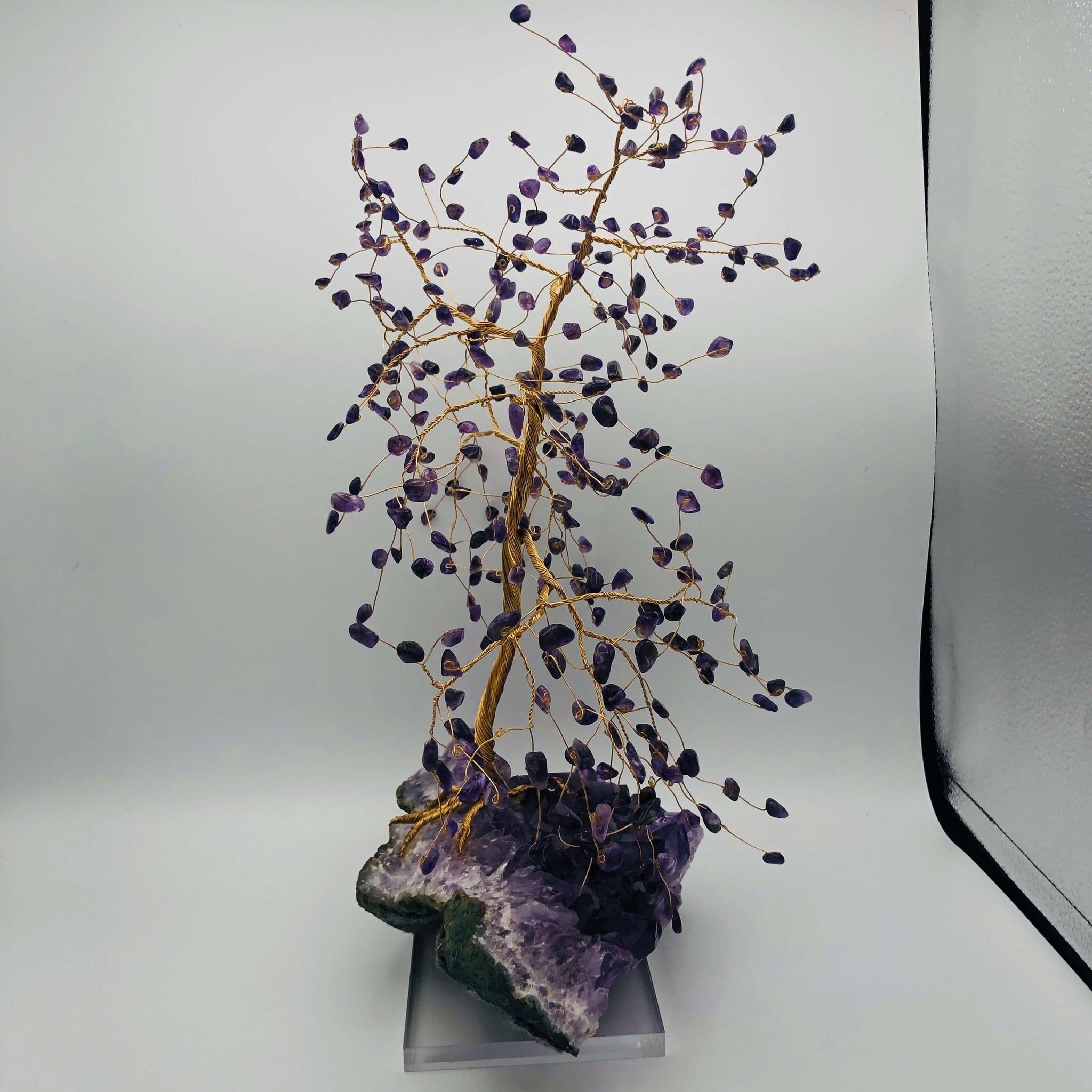 Amethyst Tree on Amethyst Base