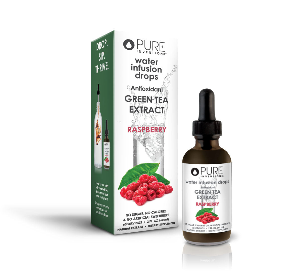 Raspberry Green Tea by Pure Inventions