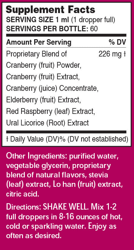 Cranberry & Elderberry Superfruit Extract by Pure Inventions
