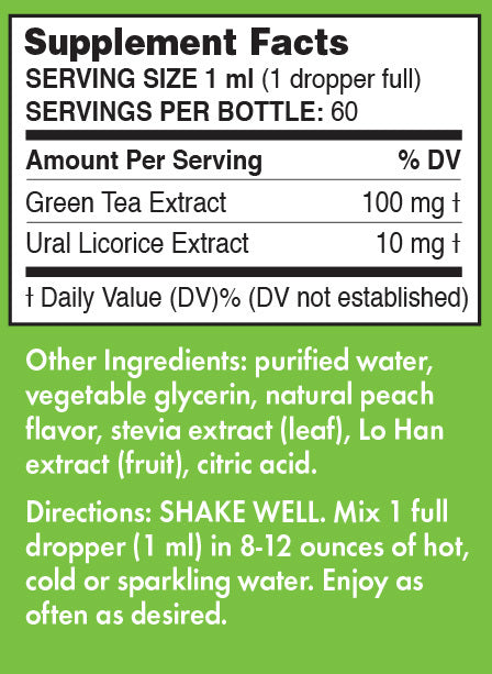 Peach Green Tea Extract by Pure Inventions