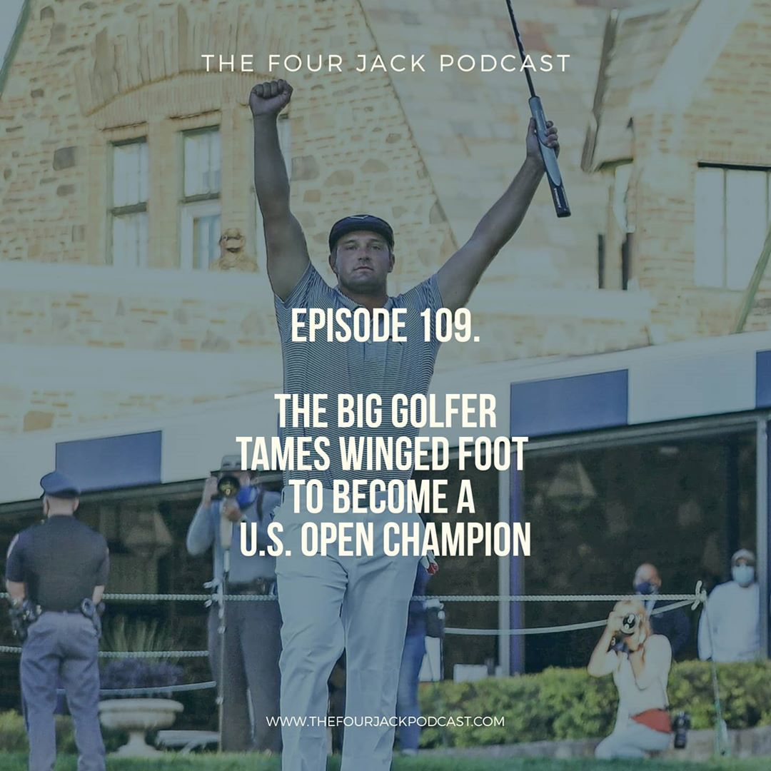 Episode 109. The Big Golfer Tames Winged Foot to Become A U.S. Open Champion