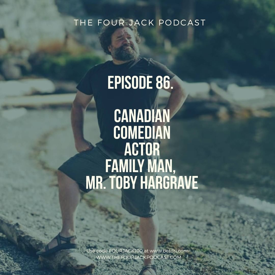 Episode 85. Comedian/Actor, Mr. Toby Hargrave
