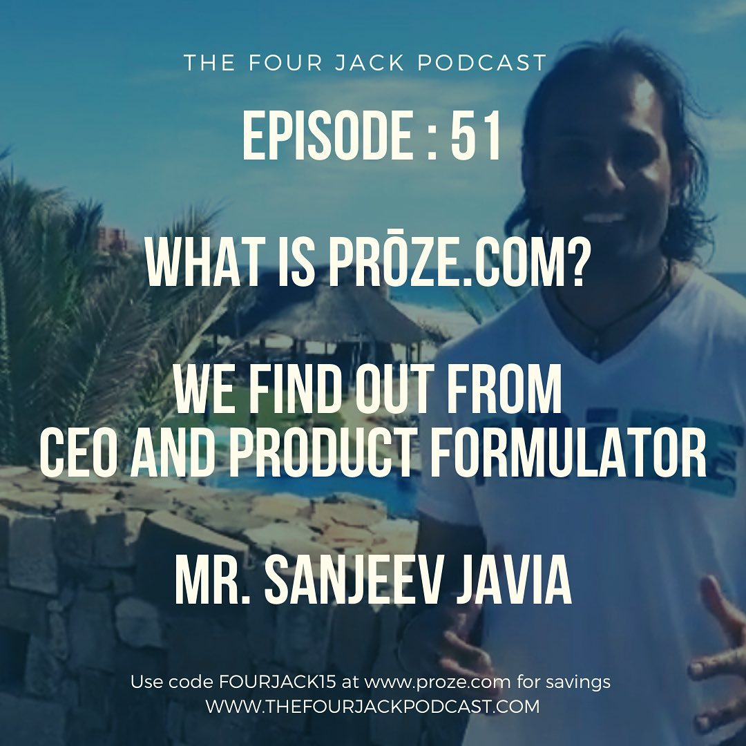 Episode 51 - Mr. Sanjeev Javia - Prōze: Creating pathways to optimal performance