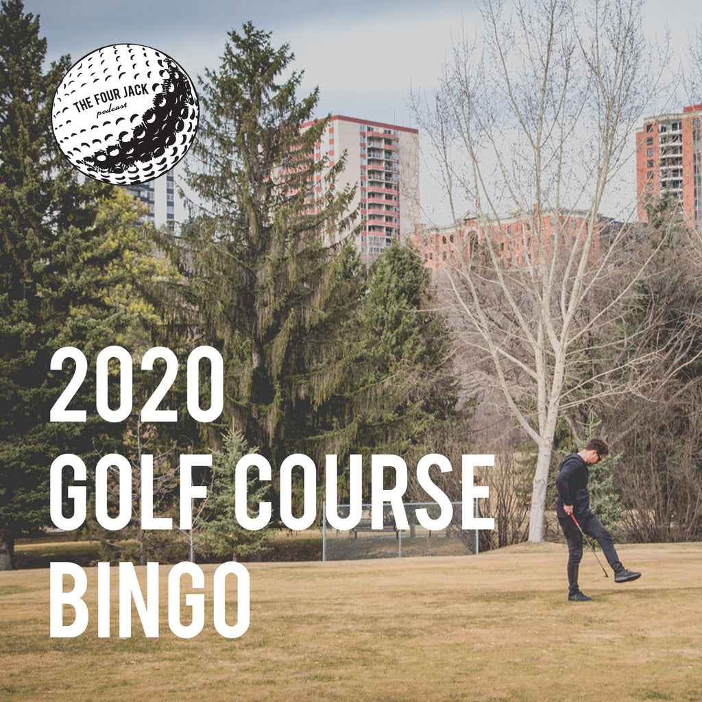 2020 Golf Course Bingo