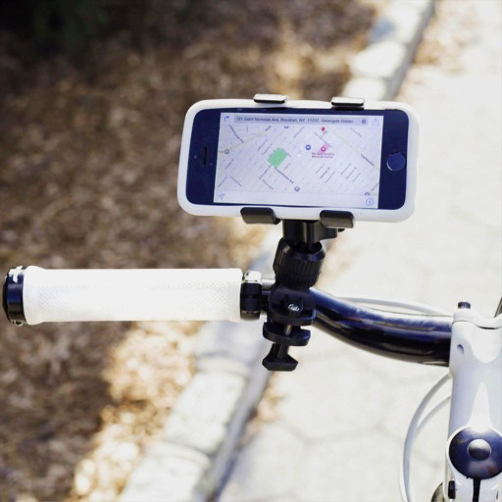 Handy phone holder for your bike!
