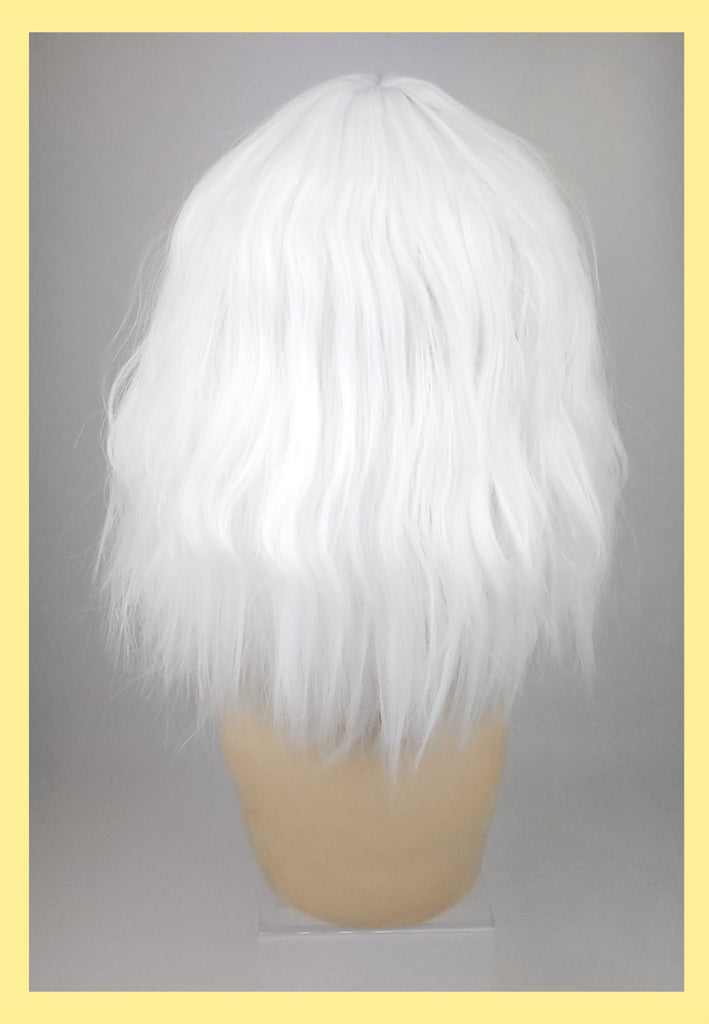 Atomic Blonde Wig in Platinum (Back)