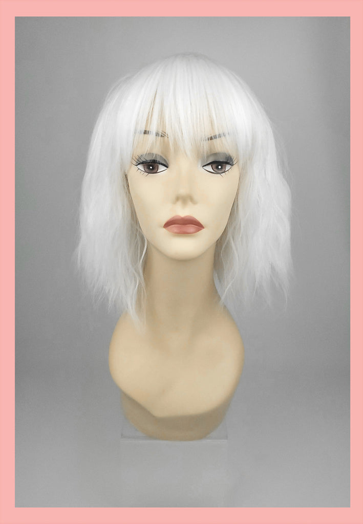 Atomic Blonde Wig in Platinum (Front)