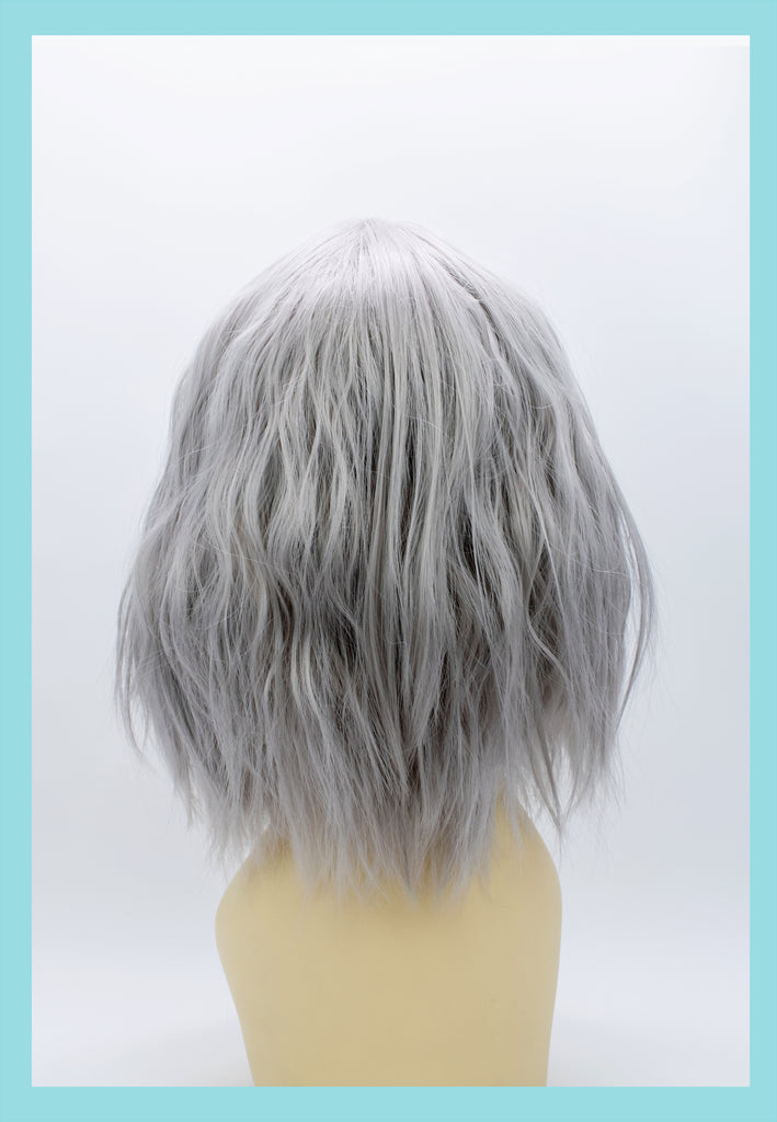 Atomic Wig in Silver (Back)