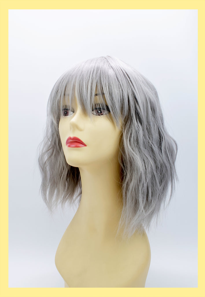 Atomic Wig in Silver (Front)