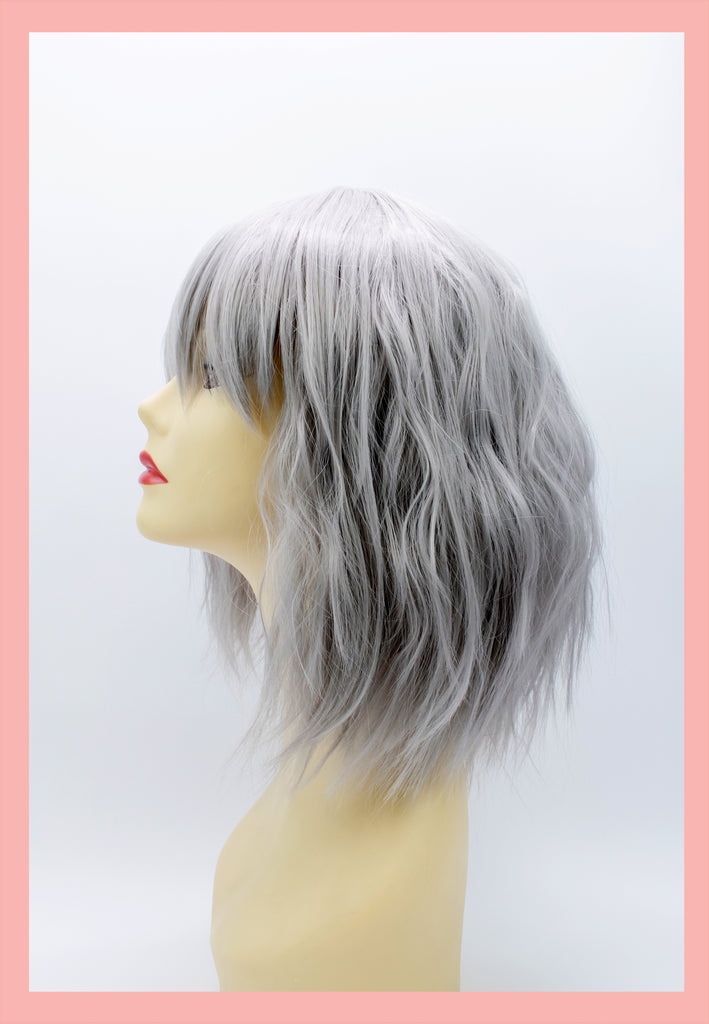 Atomic Wig in Silver (Side)
