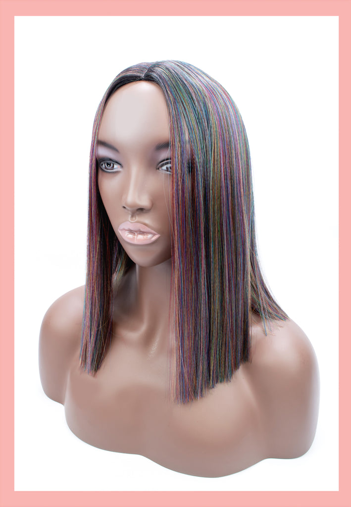 Britta Wig in Oil Slick (Front)