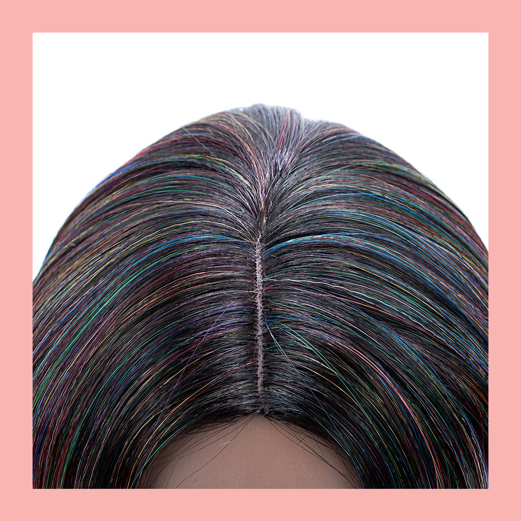 Britta Wig in Oil Slick (Part)