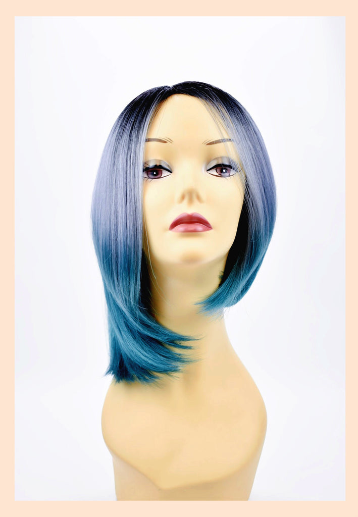 Demi Wig in Denim (Front)