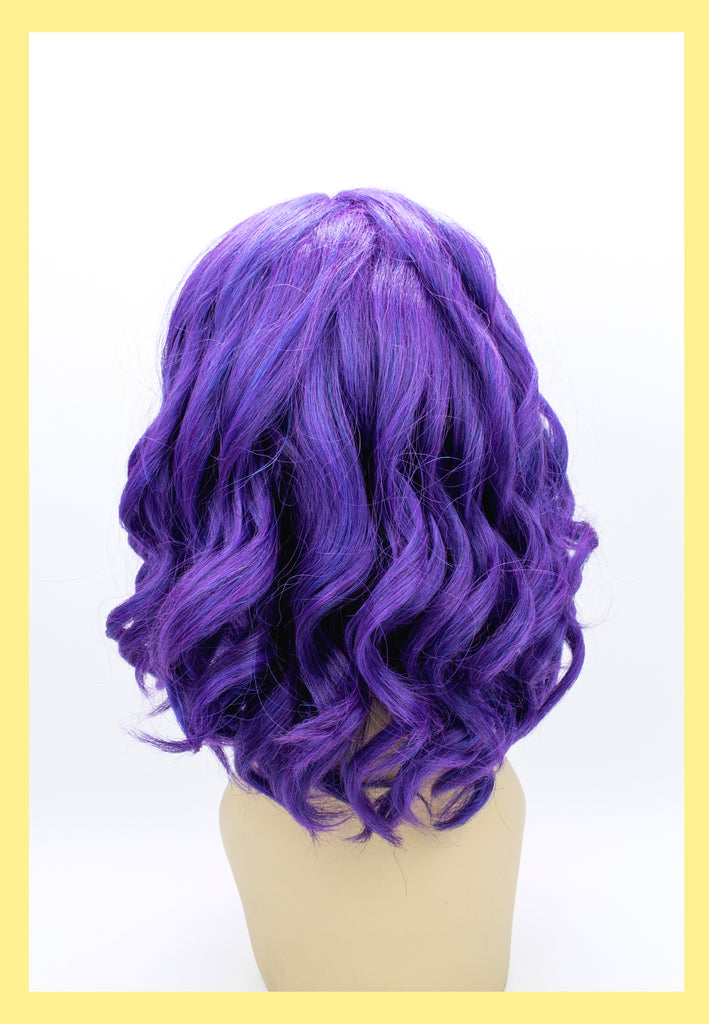 Descendant Mal Wig in Purple (Back)