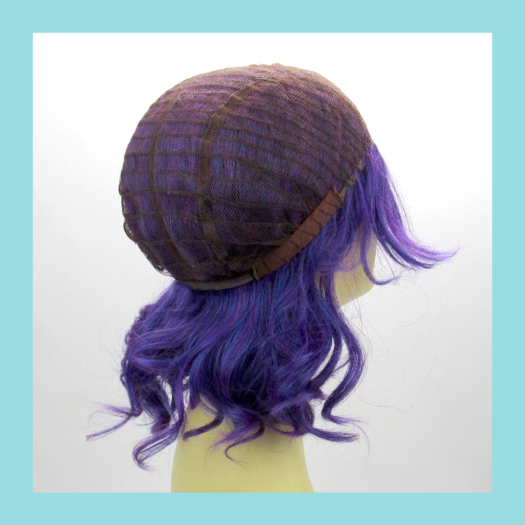 Descendant Mal Wig in Purple (Wig Cap))