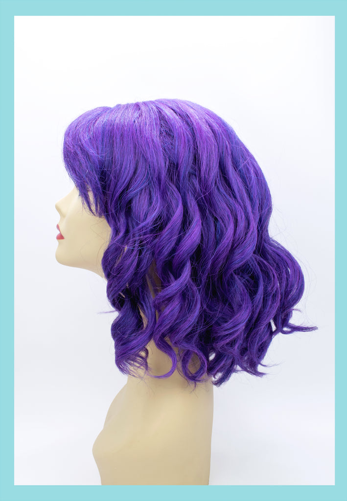 Descendant Mal Wig in Purple (Side)