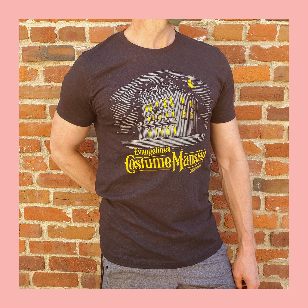 Evangeline's Costume Mansion Logo T-Shirt