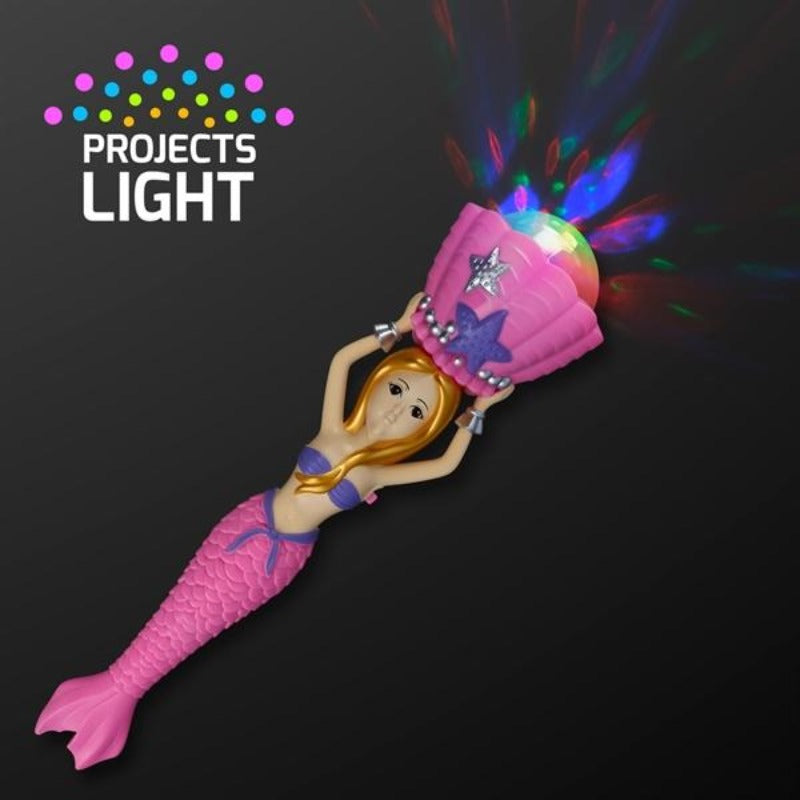 Mermaid Magic Wand Spinning Light Projector