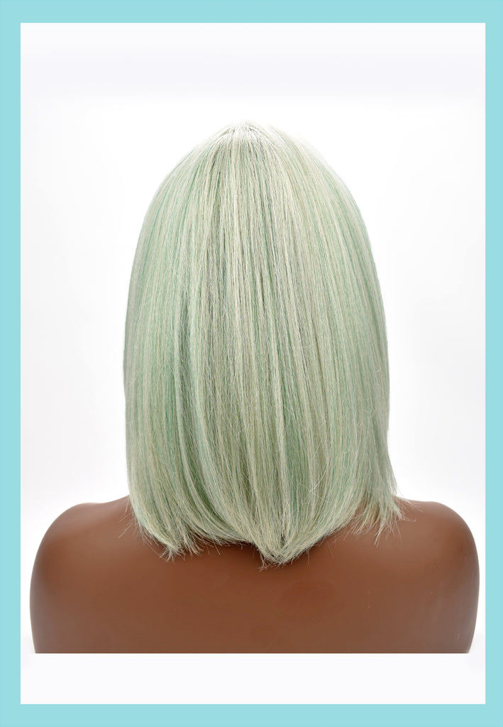 Willow Wig in Celadon (Back)